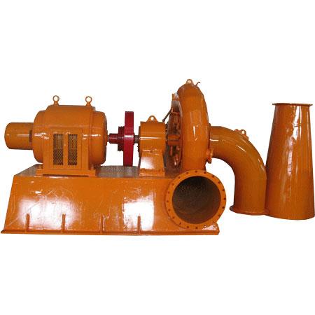 125kw Francis water turbine generator