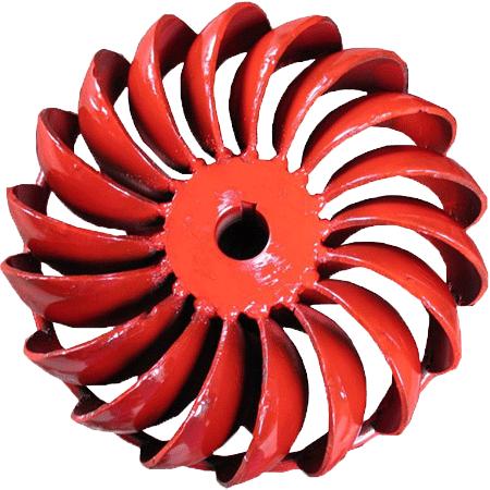 2kw pico hydro power turgo turbine runner