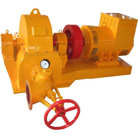75KW Pelton turbine hydropower generator