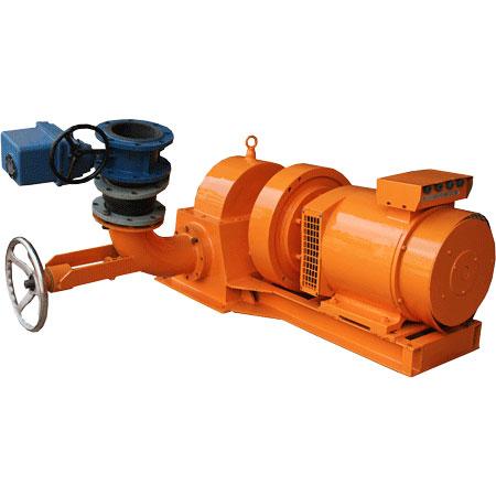 Micro Pelton turbine generator 40kw