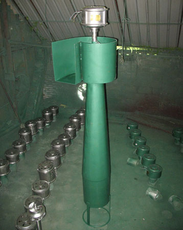 Water conduct and tail tube of pic propeller turbine